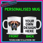 BOXER DOG PET CUTE MUG BIRTHDAY GIFT